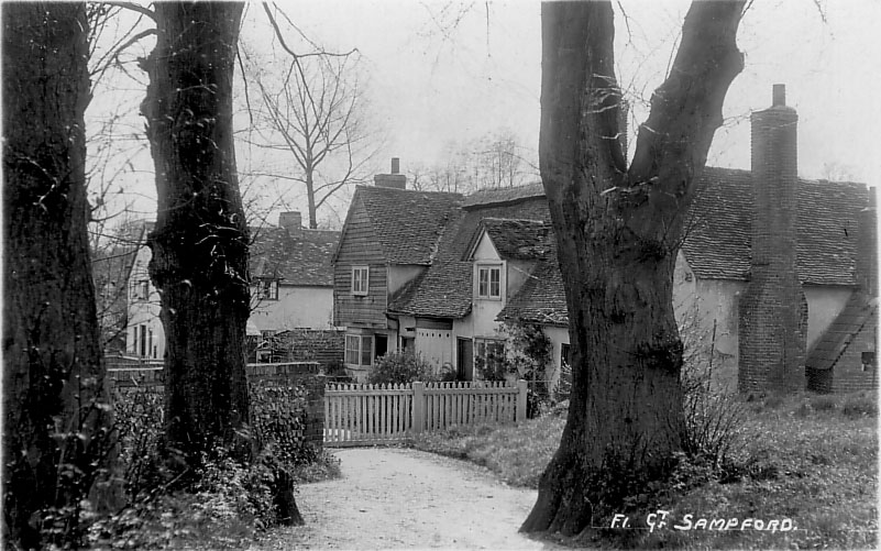 Local History Of Great Sampford Village In Essex